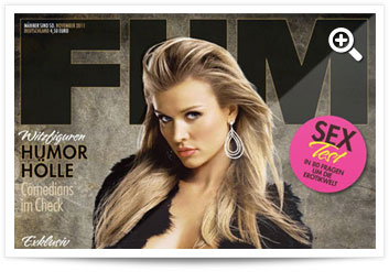 FHM Cover Nov. 2011