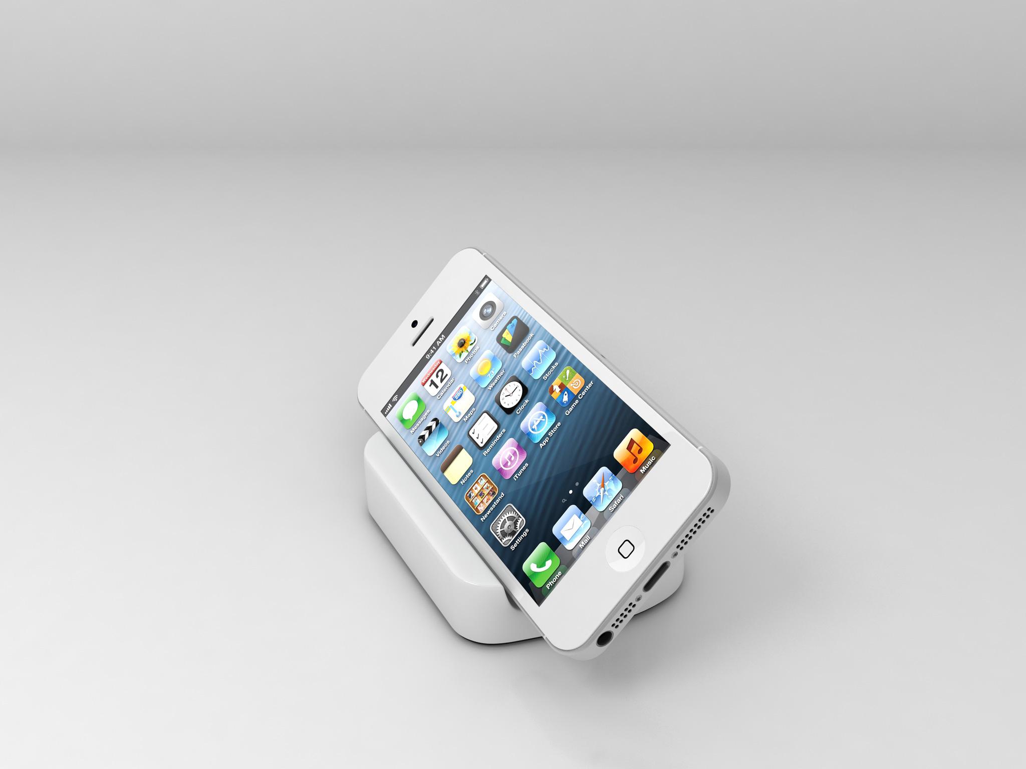 das neue iphone 5 dock von paydroid. Black Bedroom Furniture Sets. Home Design Ideas